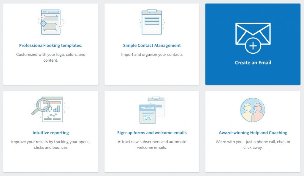 create an email list using constant contact
