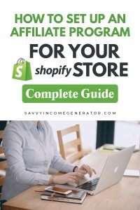Shopify for affiliate marketing