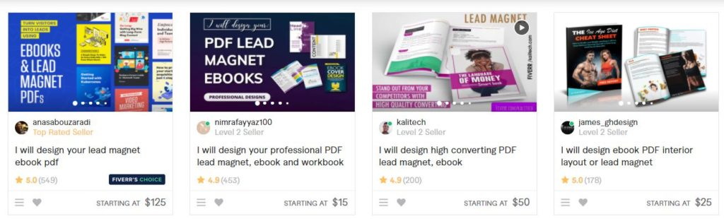 fiverr gigs for beginners