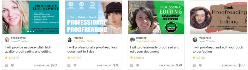 fiverr gigs that require no skill